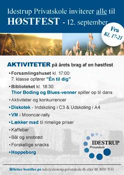 Høstfest Idestrup Privatskole