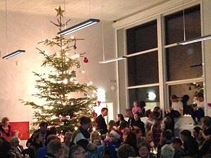 Juletræstænding på Idestrup Privatskole 2013