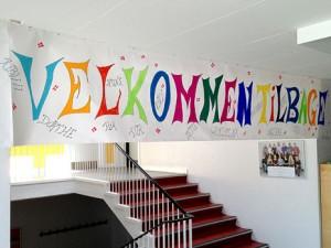 Velkommen tilbage til lærerne og eleverne